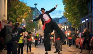 Bridgend Festival of Light Fire and Lantern Parade