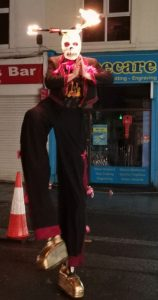 Mr Jules Day of the Dead Stilts