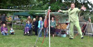 Mr Jules slack rope June 10th 2017