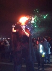 Swansea Nov 5th V faced Jules fire clubs and fireworks 3
