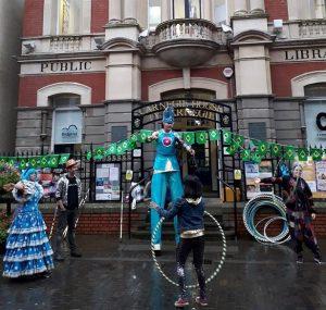 brazil night jules stilt carnival costume