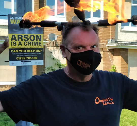 Mr-Jules-Organised-Kaos-Arson-is-a-crime