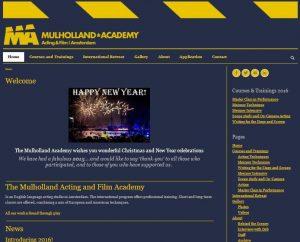 mulholland academy page
